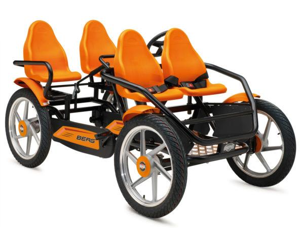 Веломобиль BERG GranTour F Race 4-seater (для всех возрастов)